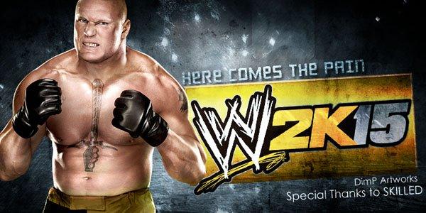 WWE 2K15 Pain