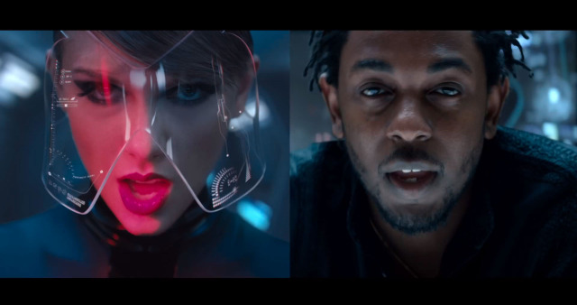 Taylor Swift si Kendrick Lamar in Bad Blood